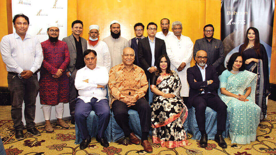 Gulf Air's Bangladesh Country Manager Ghuloom bids adieu