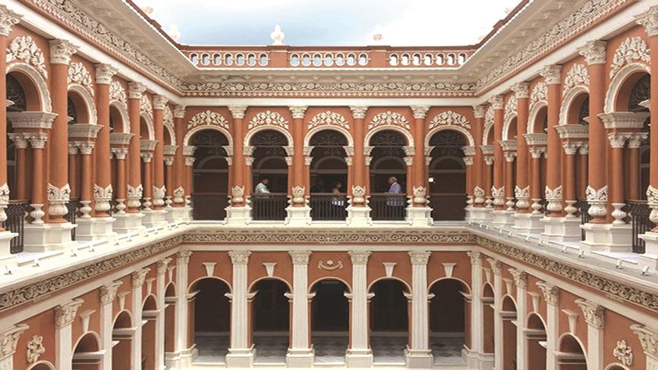 Sonargaon's Baro Sardar Bari alive now after renovation