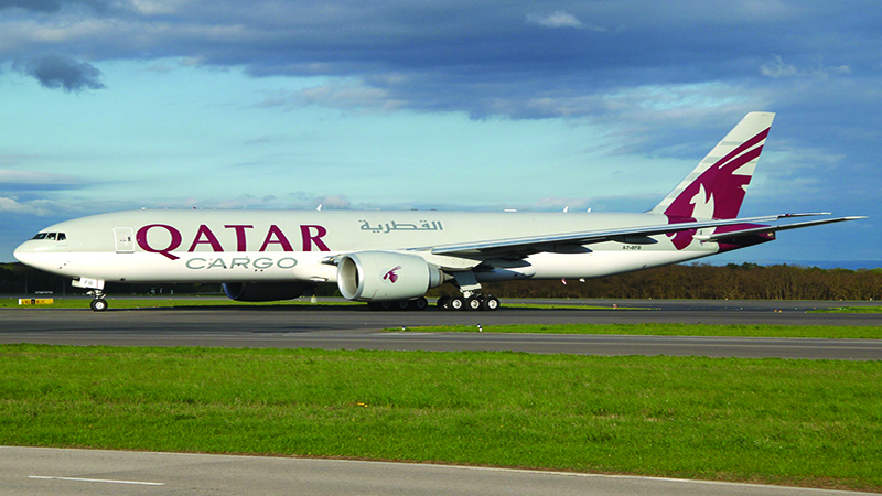 Qatar Airways Cargo receives three new Boeing 777 freighters