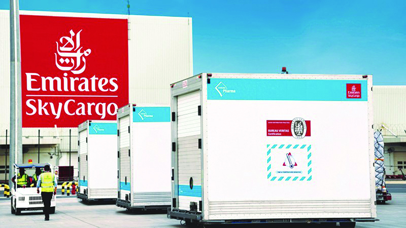 Emirates SkyCargo keeping global supply chain operational despite pandemic challenges