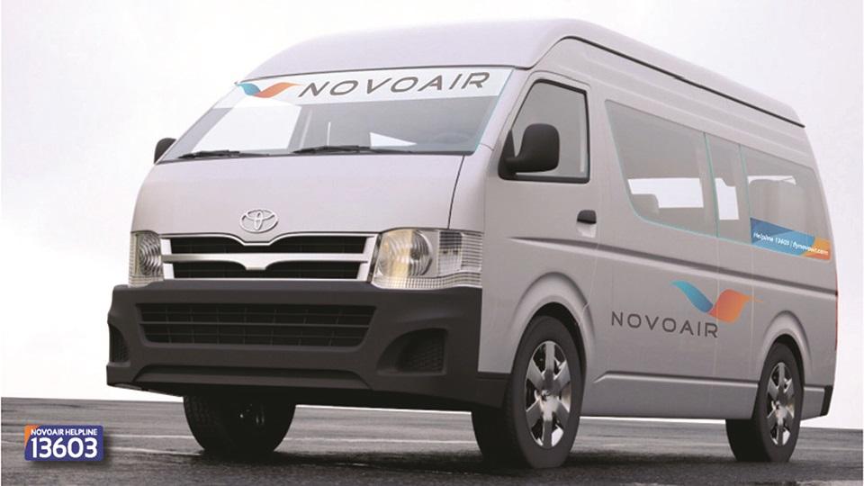 NOVOAIR launches free shuttle services