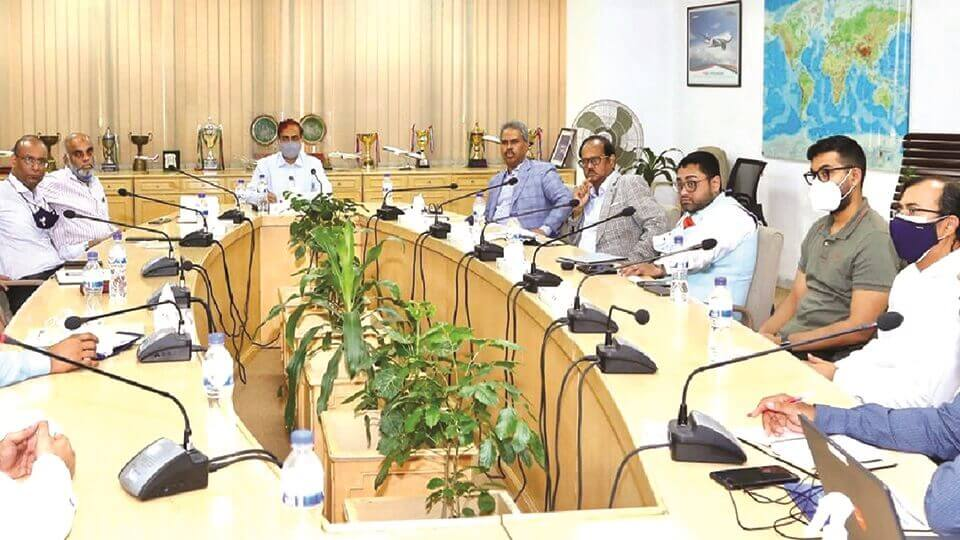 BGMEA calls for improved cargo handling services from Biman