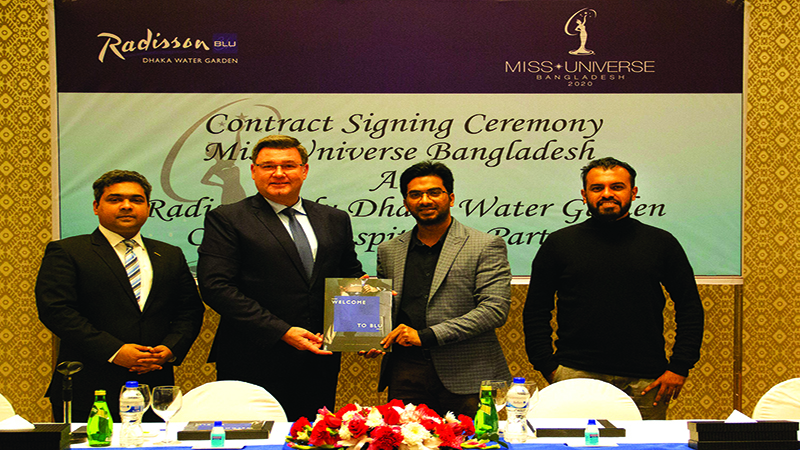 Radisson Blu Dhaka becomes hospitality partner of Miss Universe BD 2021
