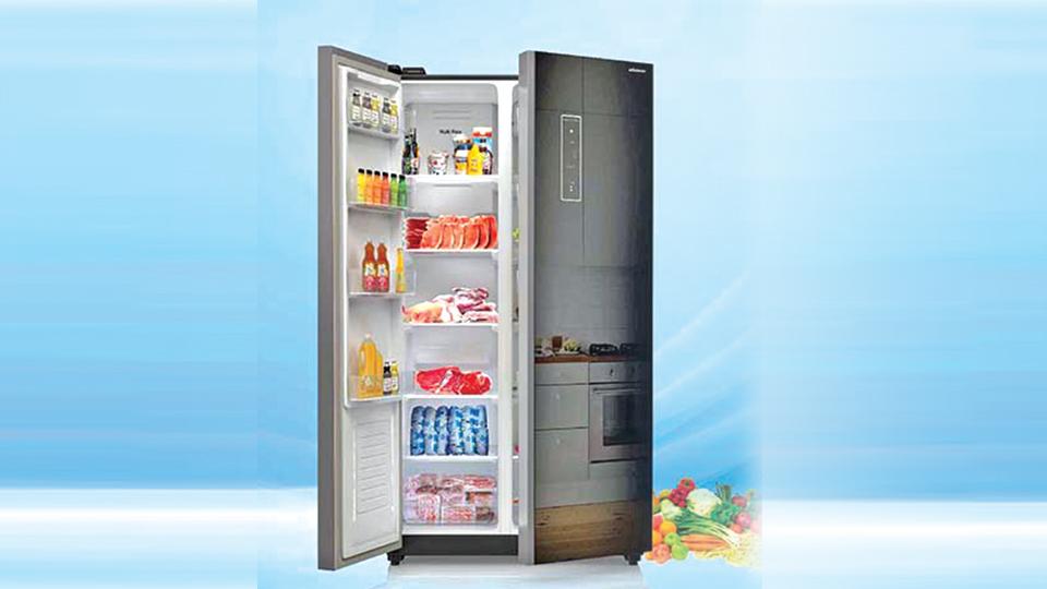 Minister brings new smart inverter fridge
