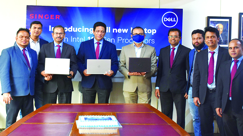 Singer launches 11th Gen Dell laptops