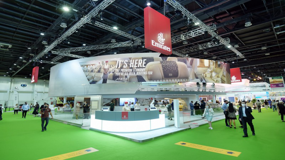 Emirates showcased its innovative products at ATM