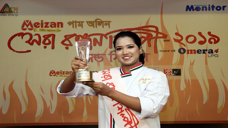 Samanta from Dhaka clinches Shera Rondhonshilpi 2019 title