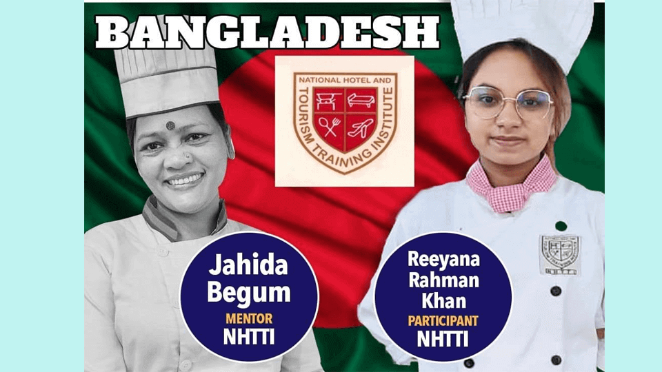 Bangladesh participates in International Young Chef Olympiad