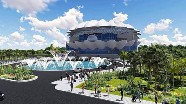 World-class oyster-shaped railway station at Cox's Bazar