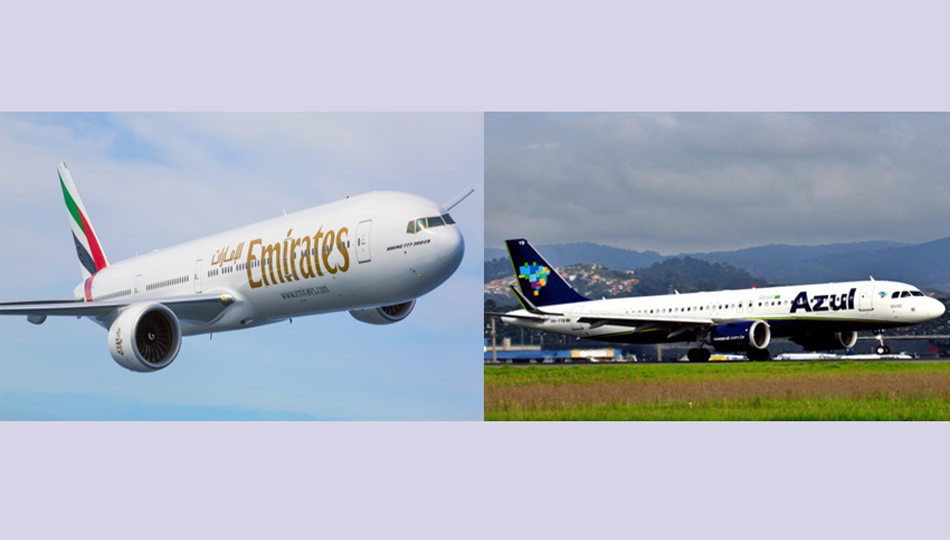 Emirates signs codeshare deal with Brazil's Azul