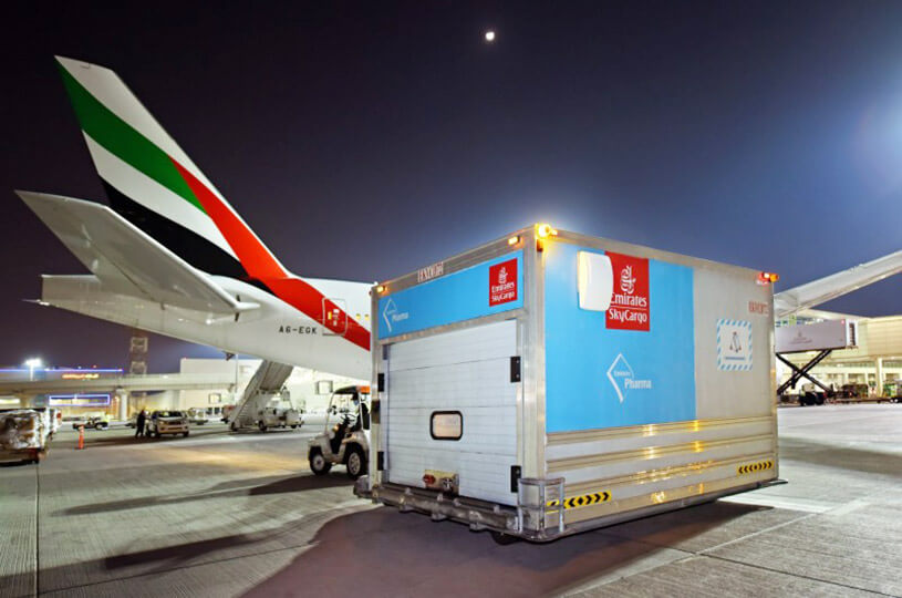Emirates SkyCargo delivers 50 million doses of COVID-19 vaccines to more than 50 destinations