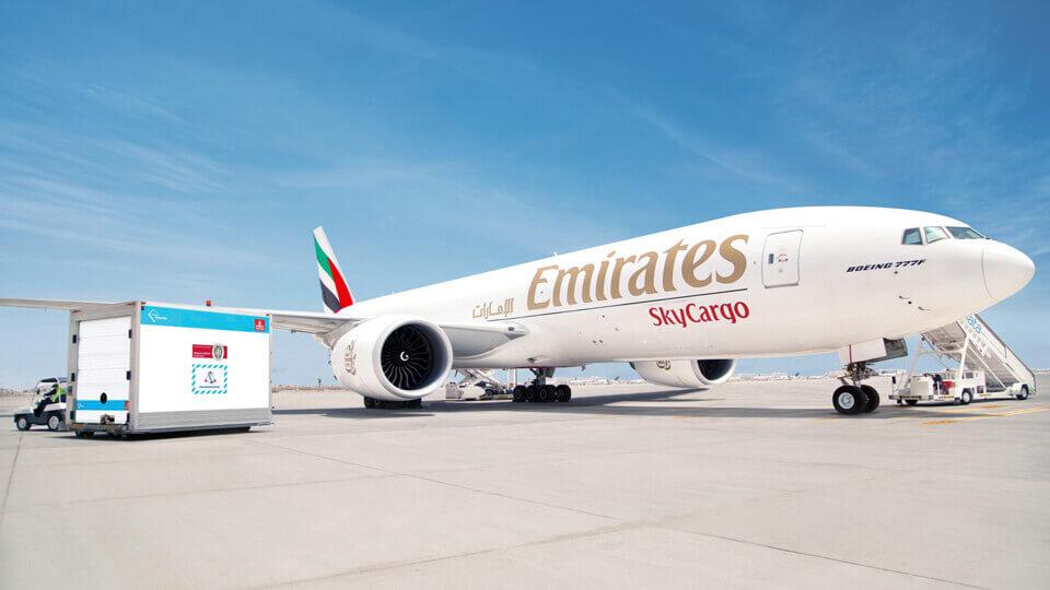 Emirates SkyCargo has transported 150 million doses of COVID-19 vaccine