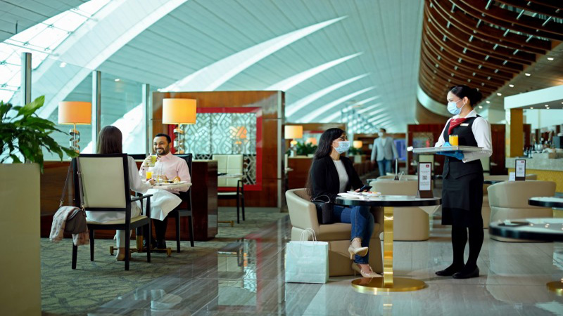 Emirates gradually re-opens worldwide lounges