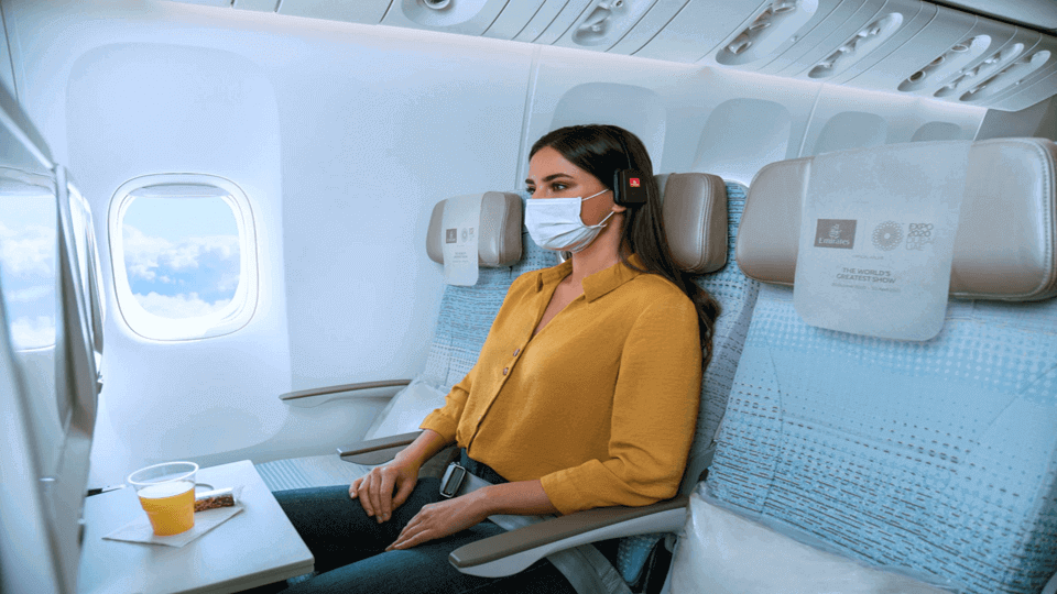 Emirates offers options to purchase empty adjoining seats for Economy Class passengers
