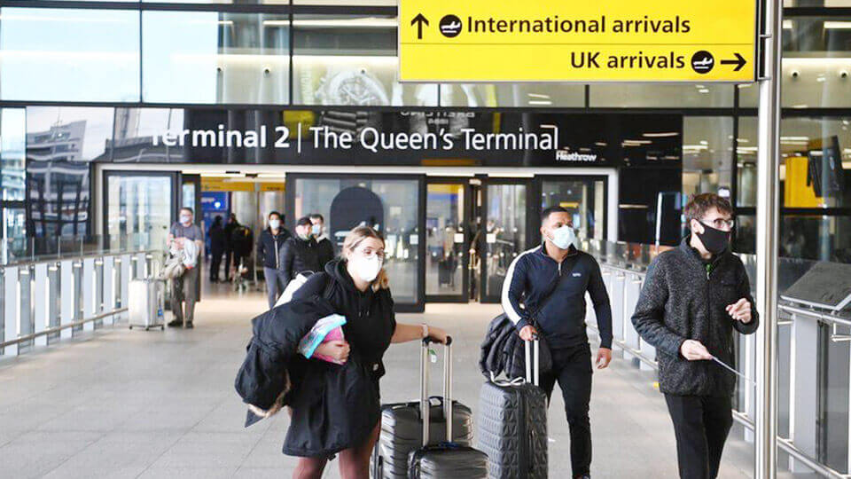 In UK lying about high-risk travel upon arrival could land you in prison for 10 years