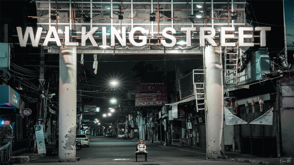 Pattaya turns  to be a  ghost town