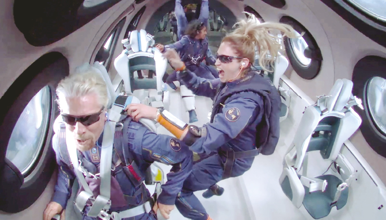 Space tourism: What's on offer