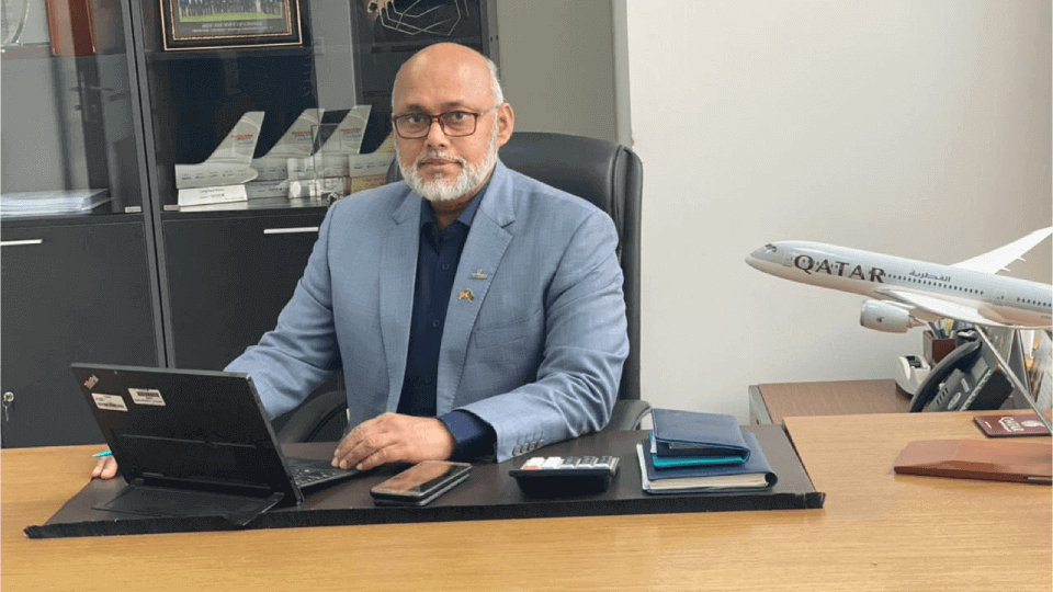 Tayab promoted as Commercial Manager of Qatar Airways-Bangladesh