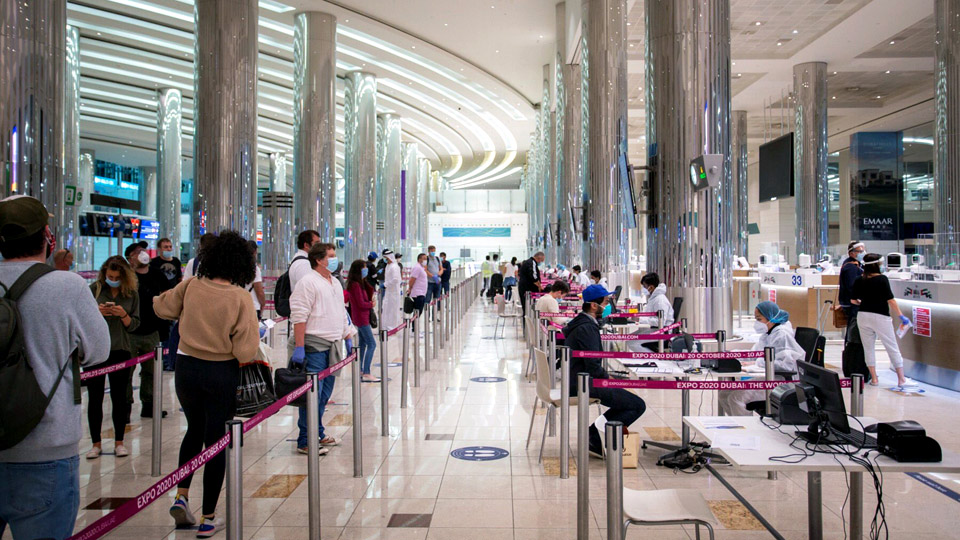UAE entry permit, new visa holders request for travel permission