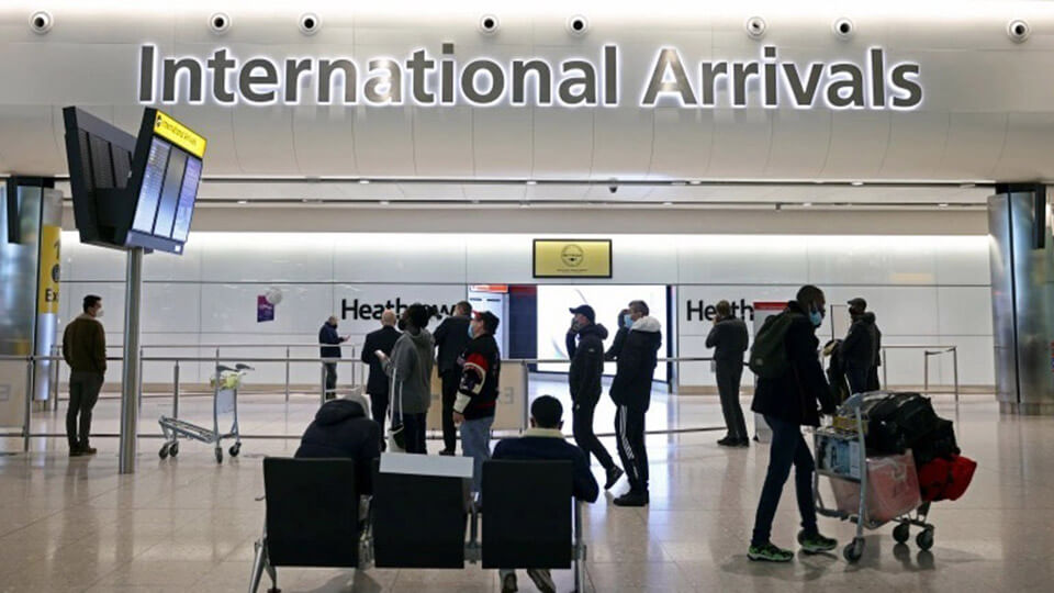 UK to impose a new quarantine system for arriving passengers from Feb 15