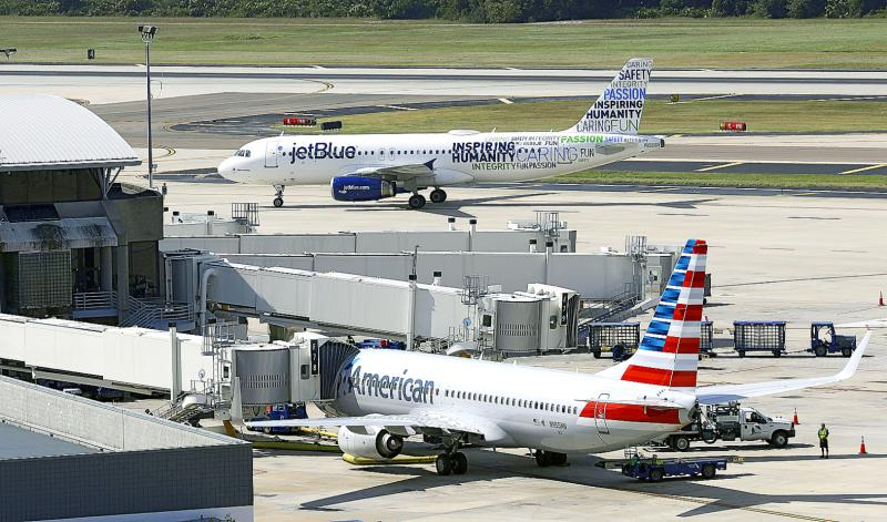 US sues to block American Airlines-JetBlue alliance