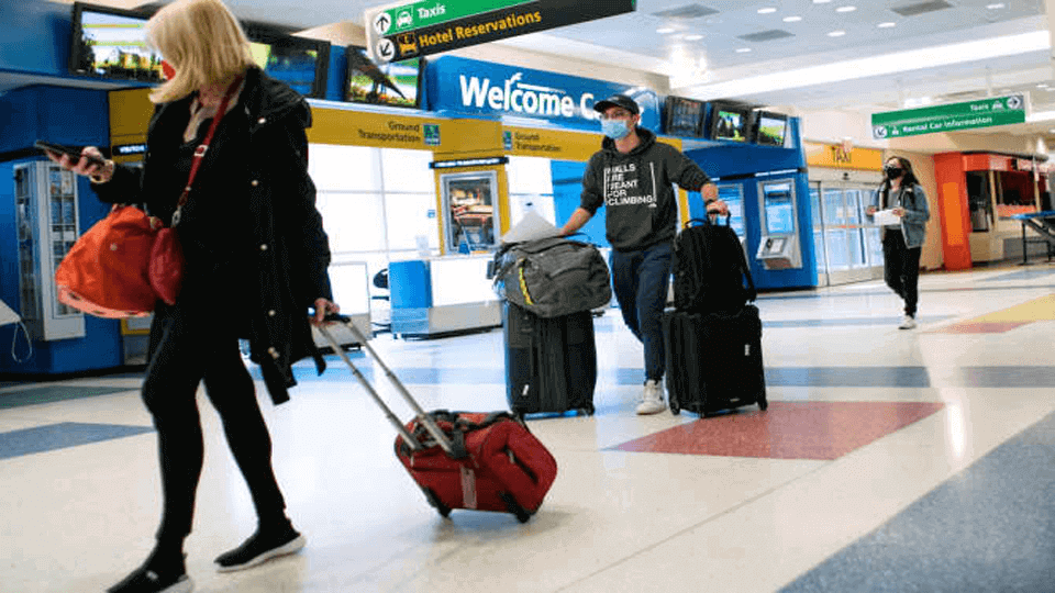COVID-19 test rule begins for international flights to the US