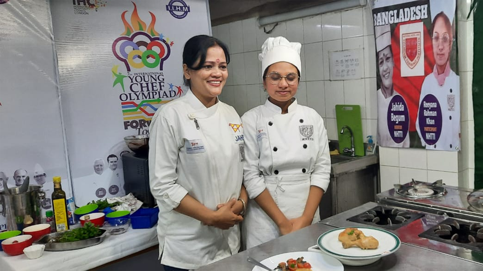 Bangladesh wins recognition at the  Int'l Young Chef Olympiad