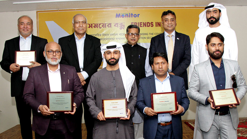 Airlines acknowledged for firm commitment to Bangladesh during pandemic