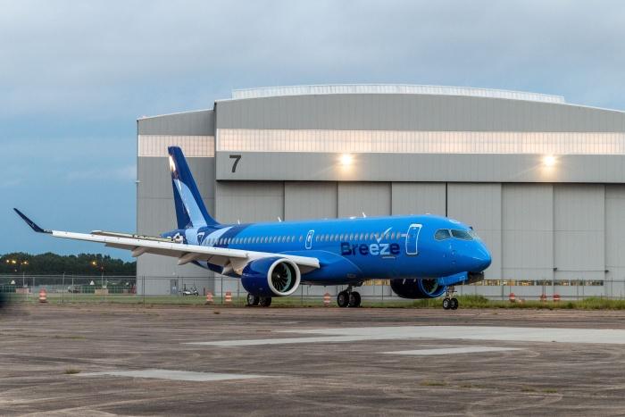 Breeze Airways prepares to debut Airbus A220
