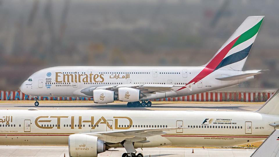 Emirates suspends flights from BD till August 7, Etihad 'till further notice'
